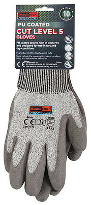 2 x Pairs of Blackrock Advance Cut Resistant Gloves LEVEL 5 Safety Work 54307