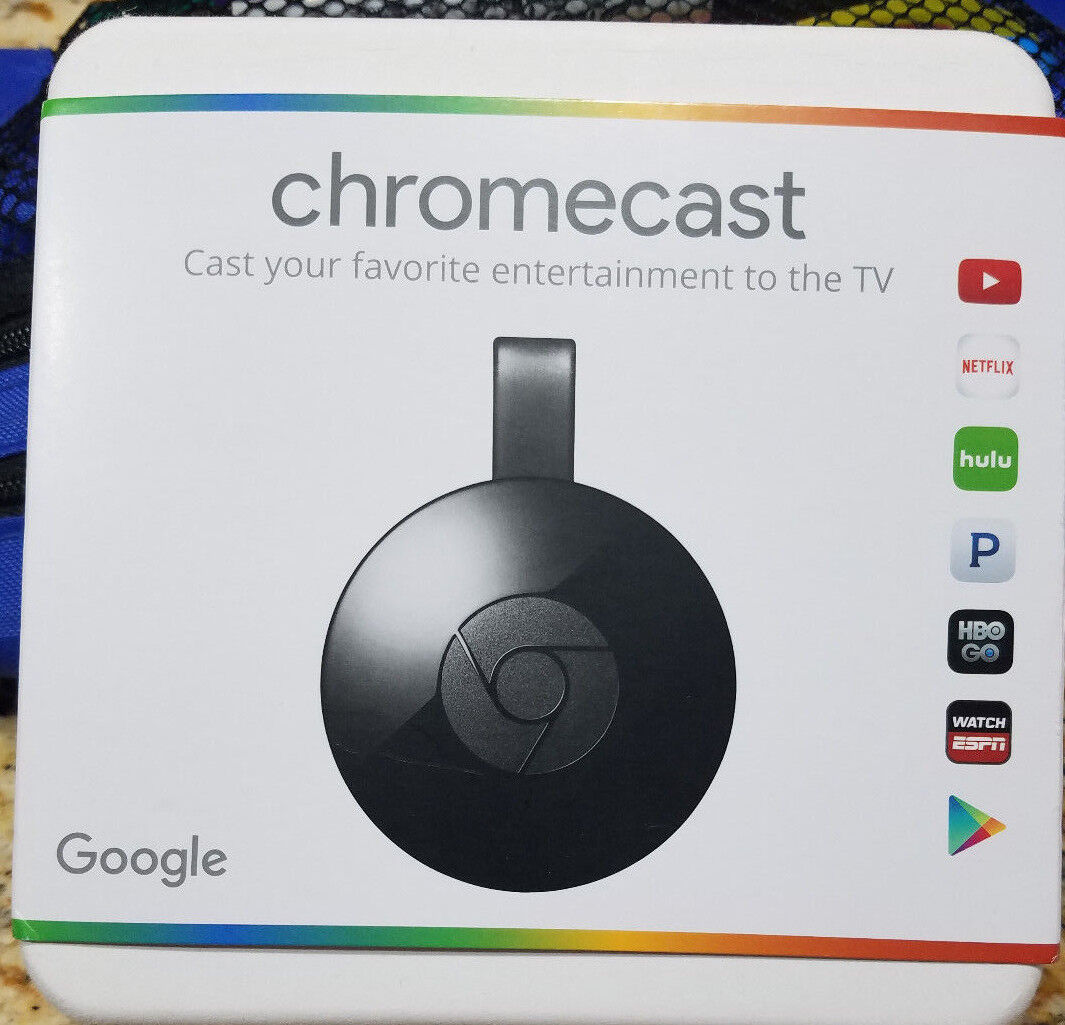 Brand New Sealed - Google Chromecast 2 Digital HD Media Streamer-2ND Generation