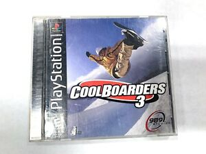 Cool Boarders 3 Sony Playstation 1 PS1 Game Complete Tested Working! BLACK LABEL