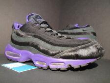 a5699063da Nike Air Max 95 Black-black-club Purple Sz 11 Horse Hair RARE 609048 ...