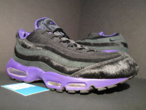 34d70a794f 2010 NIKE AIR MAX 95 ATTACK PACK PONY HAIR BLACK PURPLE OG 1 97 ...