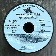 Washington Alloy Aluminum Mig Welding Wire
