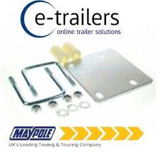 Maypole Easy-fit Trailer Jockey Wheel fixing kit for 50mm /& 60mm Drawbars MP191