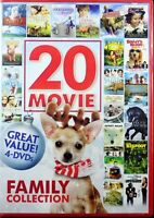 Family Collection 4 Dvd Set 20 Different Movies Over 28 Hours Entertainment