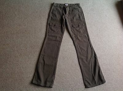 Joie Cargo Trousers Pants - Bella Twilight Alt - Khaki Green - Size 27