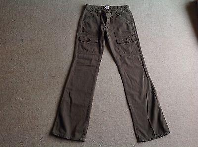 Joie Cargo Trousers Pants ASO Bella Swan Twilight - Khaki Green - Size 27 - ALT