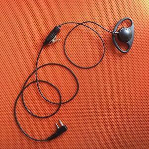 2-wire Headset Earphone Mic For ICOM IC-F1000D IC-F2000D Portable Radio