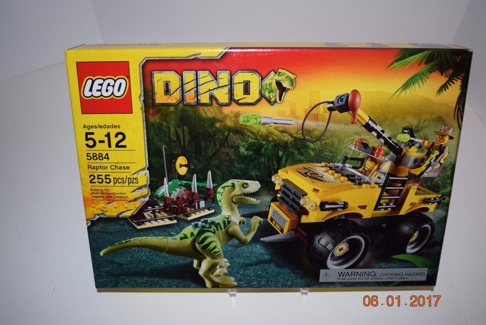 Lego 5884-Dino Raptor Chase - 5+ 5882,5883,5885,5886 - Scellé -- retraités -- NEUF