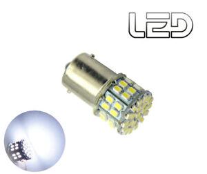 1-Ampoule-P21W-BA15s-50-LED-Blanc-Roulage-Feux-de-jour-Diurne-Veilleuses-Recul