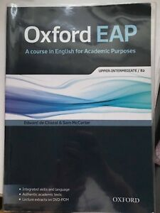 Details about Oxford EAP: Upper-Intermediate/B2: Student's Book and DVD-ROM  Pack by Oxford