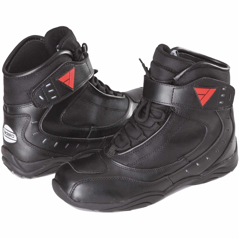 Modeka Le Men's Urbaner Motorcycle short Boots Leather/Textile - Black