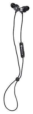 Rockville EBT35 GunMetal Magnetic Bluetooth EarBuds In-Ear Sport Headphones/IPX5