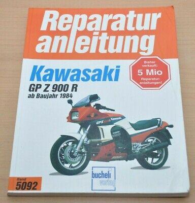 Eerlijk Kawasaki Gpz 900 R Ab 1984 Motor Bremsen Kupplung Reparaturanleitung B5092 Warm En Winddicht