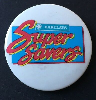 Vintage Badge BARCLAYS BANK Super Savers 4cm Pin B0012 | eBay