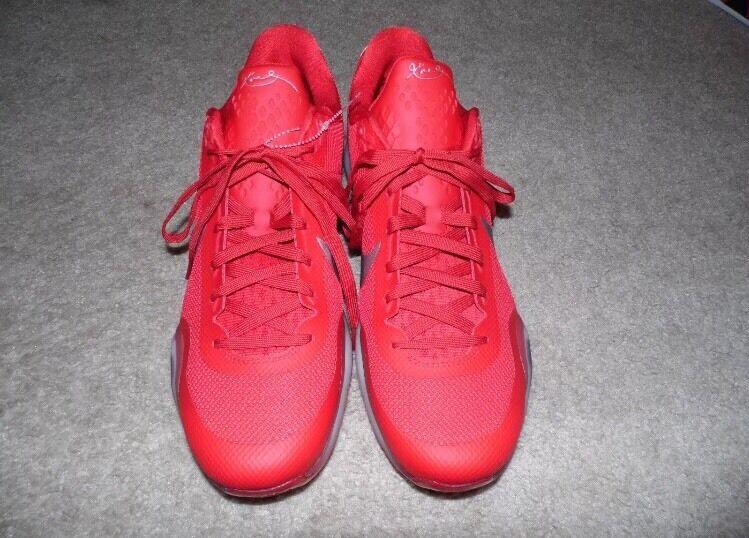 Nike zoom kobe x houston razzi james 16 harden pe 16 james università rosso bianco argento c147d5