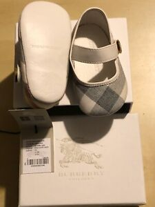 Burberry-Classic-Check-Baby-Shoes-Size-EU17-3-6-months