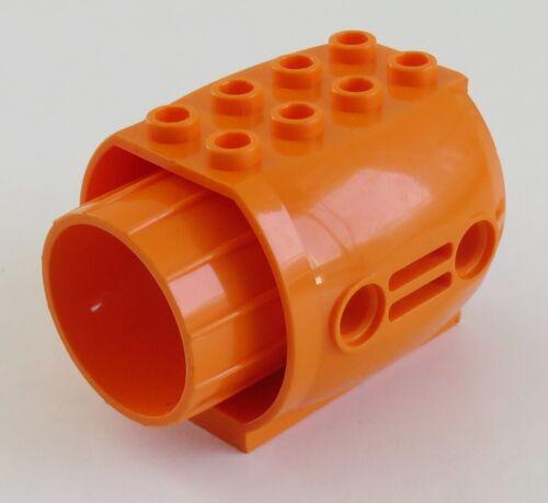 LEGO Flugzeug Triebwerk orange # 43121 Aircraft Engine,groß Düse
