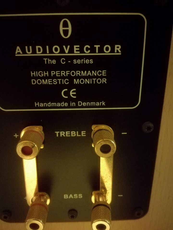 Højttaler, Audiovector, The C series