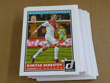 2015 Panini DONRUSS SOCCER BASE LOT OF 25 CARDS DIMITAR BERBATOV #17