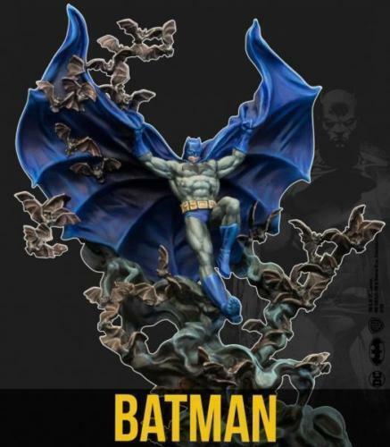 KNI35DC212 Batman Miniature Game 80th Anniversary Batman Knight Models
