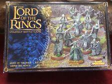 Games Workshop LOTR Army of the Dead BNIB OOP Metal 06-34 Lord Of The Rings