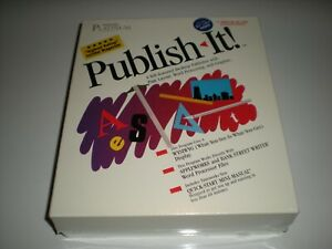 Timeworks-Publish-It-desktop-publishing-for-Apple-IIc-2GS-2e-New-Old-stock