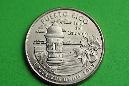 US Territory  Quarter Coin PUERTO RICO 2009-P  BU Mint State