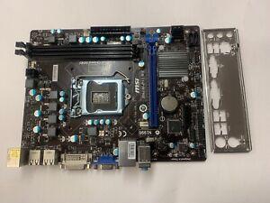 MSI-H61M-P31-W8-MS-7788-D616413258-LGA1155-mATX-MOTHERBOARD-WITH-BP-REF-R334