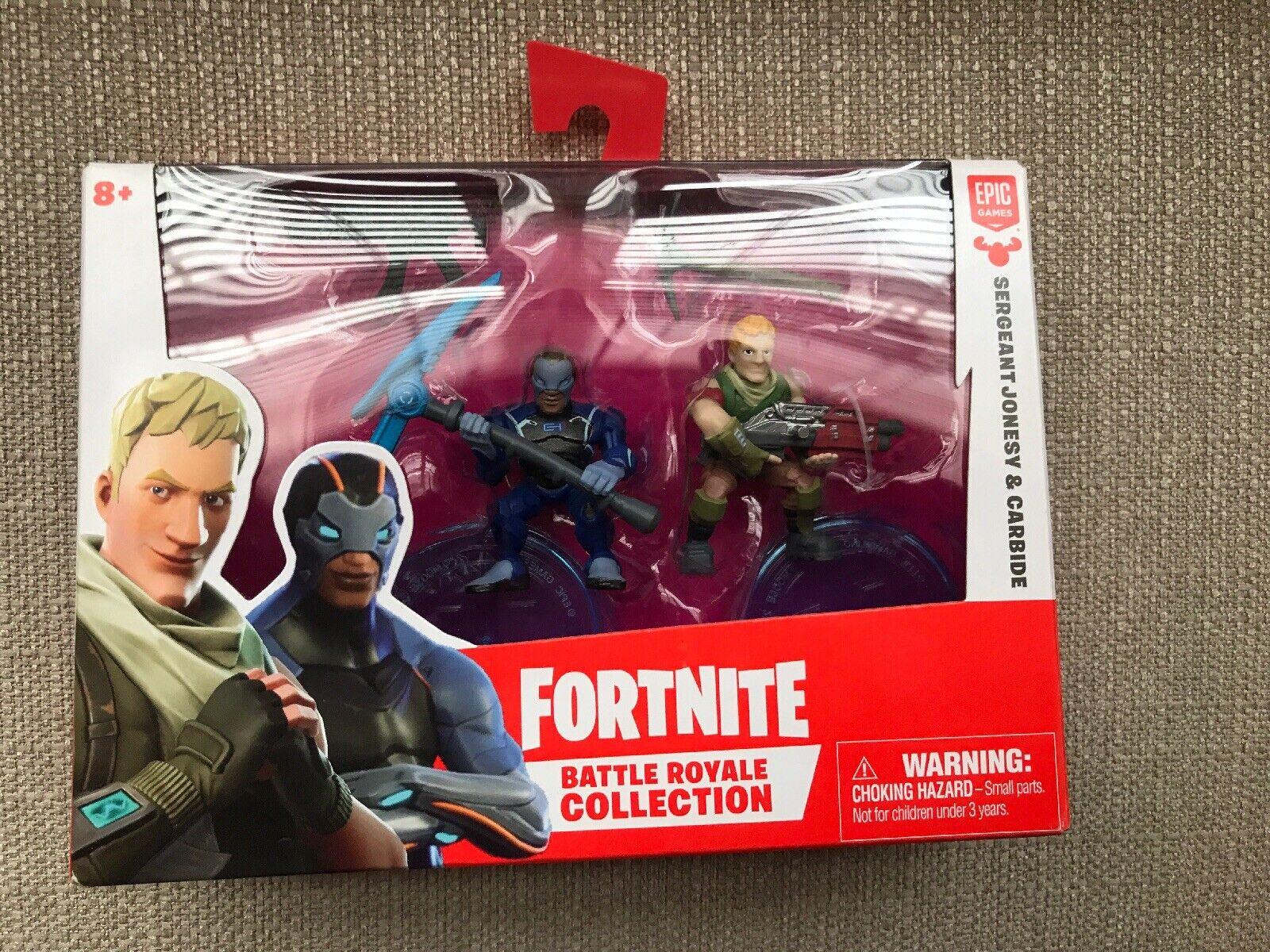 Fortnite azione cifras Sergeant  Jonesy e autobide Figurines nuovo Collectible  con il 100% di qualità e il 100% di servizio