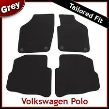 VW VOLKSWAGEN POLO 2002 2003...2006 Tailored Carpet Car Mats (Round Locators)