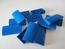 LEGO CITY   12 Fliesen mit Bogen 88930 in blau 2x4x2/3 Noppen   NEUWARE