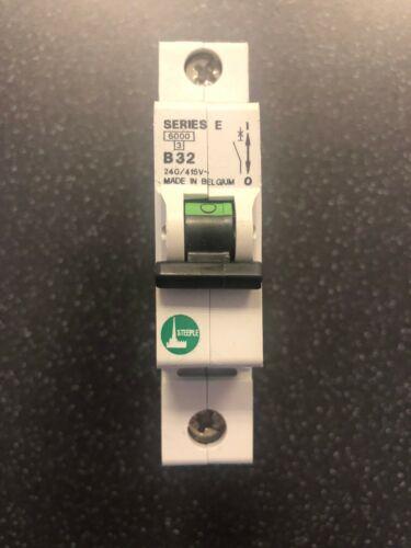 Steeple Series E Circuit Breakers B32 240//415V