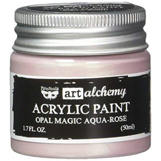 Prima Marketing finnabair alchimia Art vernice acrilica 1.7 once fluide-OPALE Magic