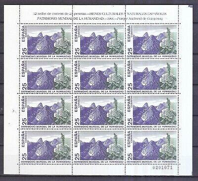 Motive 3019-3022 Ruf Zuerst Europa Spanien 1991 Postfrisch Unesco-welterbe Minr