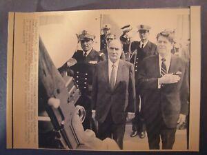 AP-Wire-Press-Photo-1981-French-Pres-Francois-Mitterrand-amp-Pres-Reagan-1