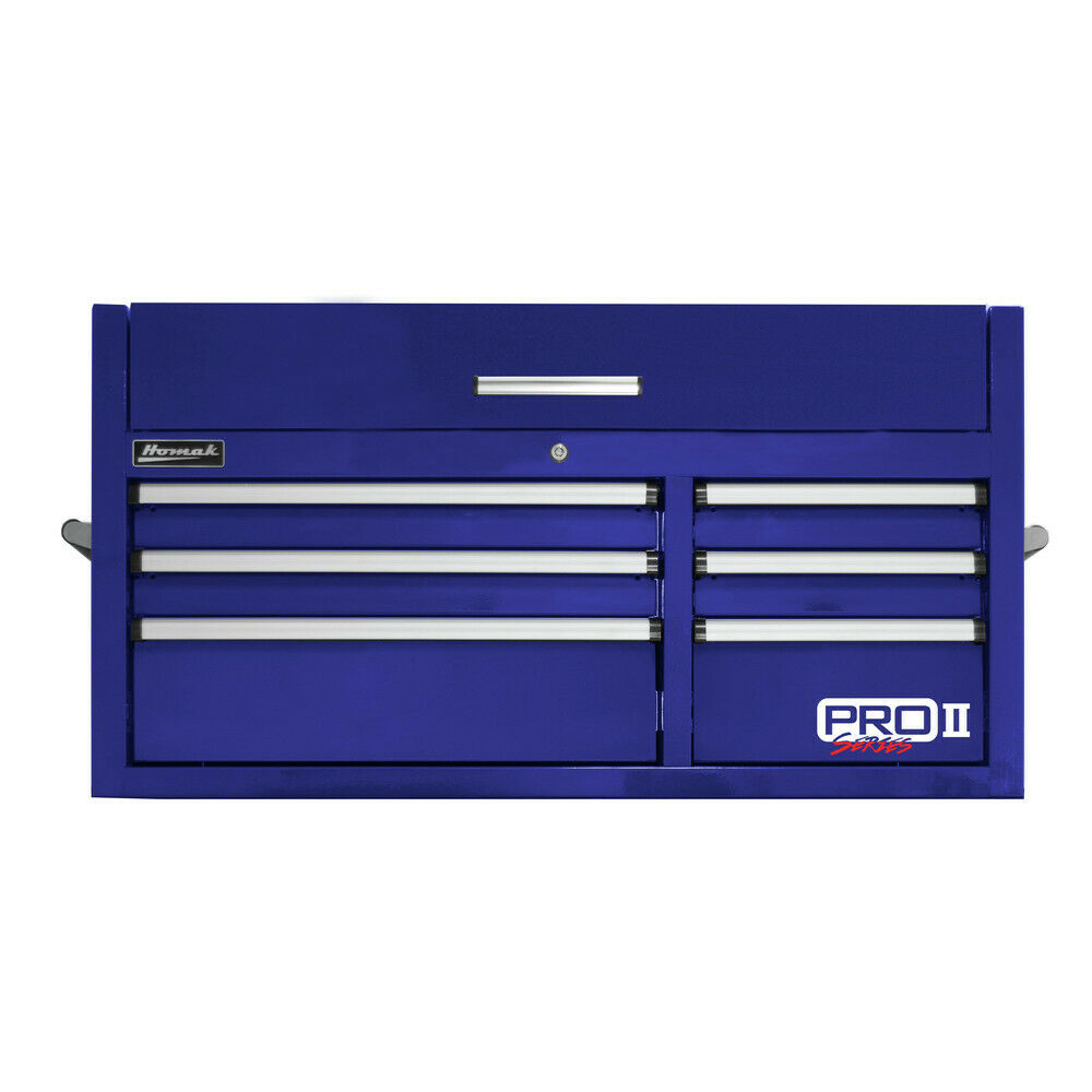 HOMAK BL02041062 41 in. 6-Drawer Top Chest (blueeee) New