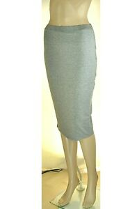 Gonna-Donna-Longuette-KAOS-Made-in-Italy-L167-Grigio-Tg-S