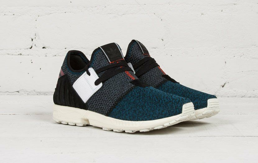 NEW IN BOX! MENS ADIDAS ZX FLUX PLUS Y3 YEEZY PK NAVY CASUAL SNEAKER AQ5398 5-11 best-selling model of the brand