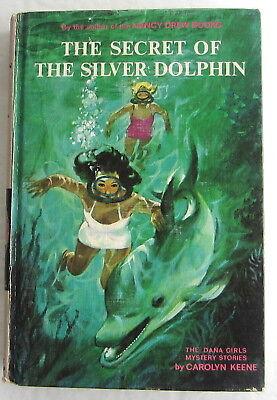 Dana Girls #27 Secret of the Silver Dolphin Nancy Drew Author Carolyn Keene 1st