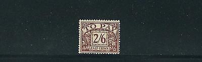 Vf Mh Verpackung Der Nominierten Marke Schnelle Lieferung Großbritannien 1951-2 Versand Due Sg D34 2sh/6 Hoher Wert