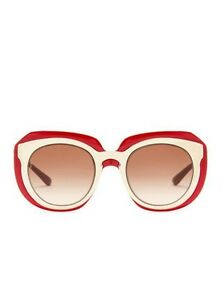 601720ebdbce NEW AUTH DOLCE & GABBANA OVERSIZED PALE GOLD PINK SUNGLASSES 3044/13 ...