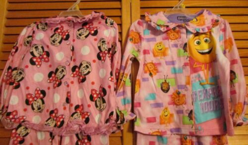 Disney Emoji PJMASKS My Little Pony Sleepwear 2 pc girl 3T 4T 5T lot 2 set NWT