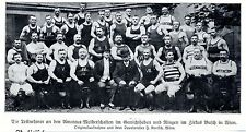 Amateuermeisterschaften d. Gewichtheber & Ringer im Zirkus Busch in Wien 1909