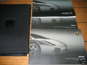 2004 lamborghini gallardo owners manual owner s set ebay rh ebay com lamborghini aventador owners manual pdf lamborghini gallardo service manual