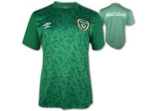 Umbro Irland Warm Up Jersey 20/21 grün FAI Ireland Aufwärmtrikot Fan Shirt S-3XL