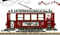 Lgb 72351 Christmas Trolley Starter Set Scale Model Trains Railroads