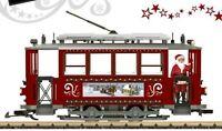 Lgb 72351 Christmas Trolley Starter Set Scale Model Trains Railroads
