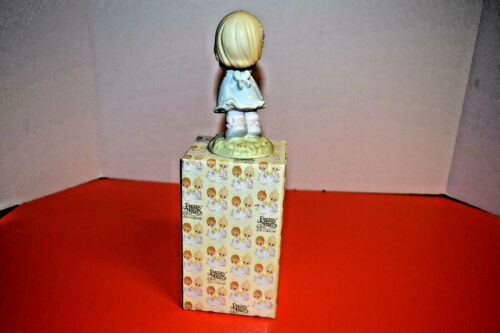 "Enesco Precious Moments Reach For The Stars Figurine/"" #634972 MIB 1999 Signed"