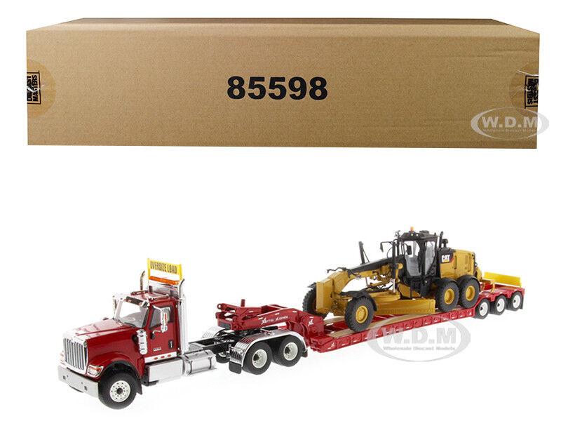 HX520 internacional con remolque & Cat 12M3 2 piezas de este conjunto 1 50 Diecast Masters 85598