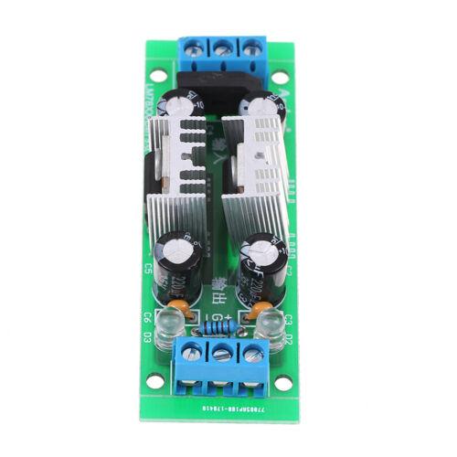 LM7809 LM7909 ± 9V Doppelspannungsregler Gleichrichterbrücke Netzteil  I1